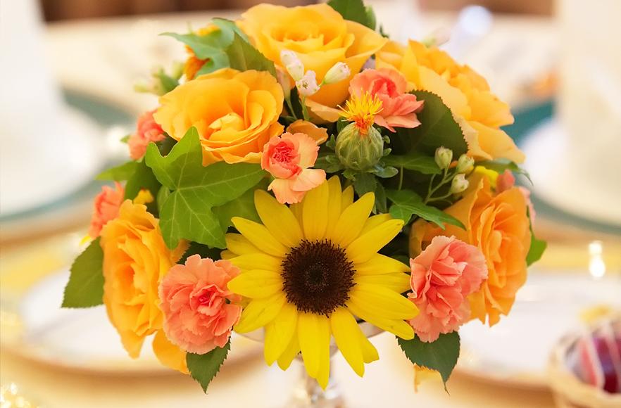 テーブル&会場装花