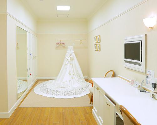 花嫁様 衣装ルーム